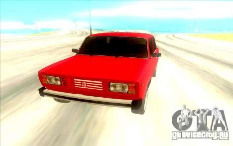Lada Riva для GTA San Andreas вид справа