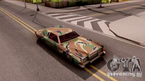 New Paintjob for Remington v3 для GTA San Andreas вид справа