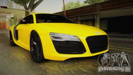 Audi R8 V10 Plus Coupe для GTA San Andreas
