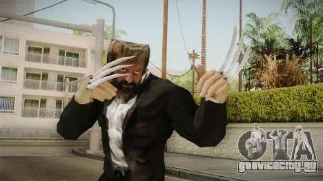 Logan Wolverine v2 для GTA San Andreas