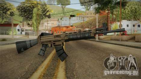 World War Z - Assault Rifle для GTA San Andreas второй скриншот