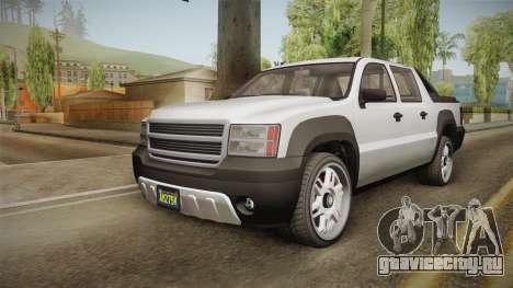 GTA 5 Declasse Granger Pickup для GTA San Andreas