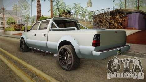 GTA 5 Vapid Sandking XL Stock для GTA San Andreas вид сзади слева