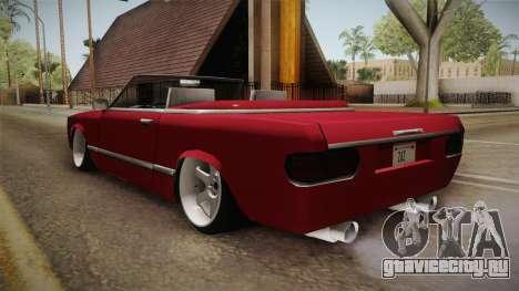 Feltzer Drift Edition для GTA San Andreas вид сзади слева