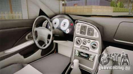 Mitsubishi Eclipse Itasha Car G41 для GTA San Andreas вид сзади