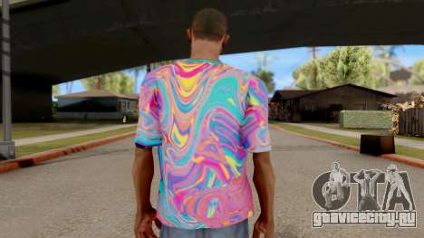 Футболка Психоделика для GTA San Andreas третий скриншот