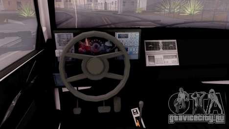 Chevrolet K3500 Silverado Crew Cab 1994 для GTA San Andreas вид изнутри