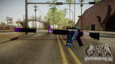 CS:GO - M4A1-S Lince для GTA San Andreas второй скриншот