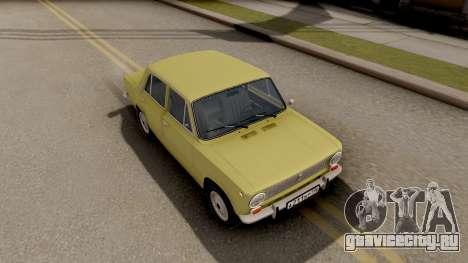 ВАЗ 2101 Копейка Сток для GTA San Andreas вид справа