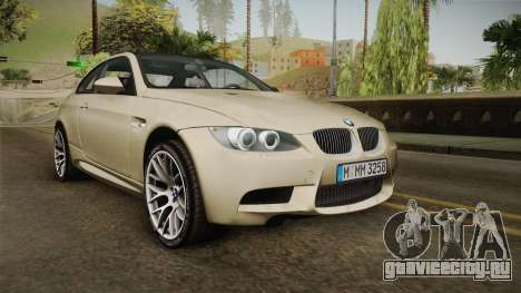 BMW M3 E92 2012 Itasha PJ для GTA San Andreas