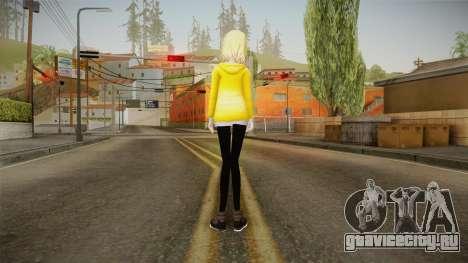 Hoodie Rin Kagamine для GTA San Andreas третий скриншот