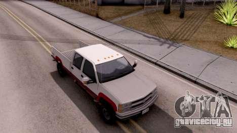 Chevrolet K3500 Silverado Crew Cab 1994 для GTA San Andreas вид справа