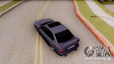 BMW M3 E36 Stanced для GTA San Andreas вид сзади