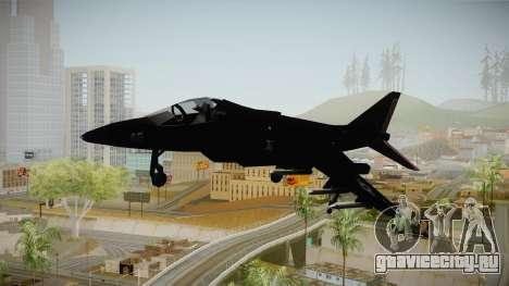 Black Hydra для GTA San Andreas вид сзади слева
