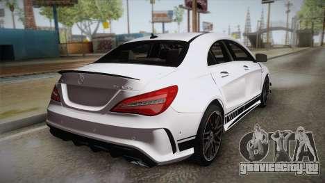 Mercedes-Benz CLA45 AMG 2017 для GTA San Andreas вид слева