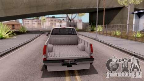 Chevrolet K3500 Silverado Crew Cab 1994 для GTA San Andreas вид сзади слева