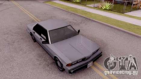 VCS Sentinel для GTA San Andreas вид справа