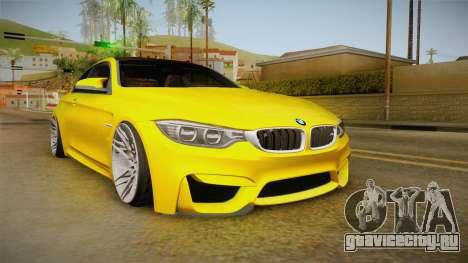 BMW M4 F82 Stance для GTA San Andreas