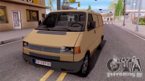 Volkswagen Transporter T4 Special для GTA San Andreas