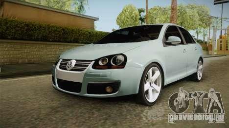Volkswagen Jetta 2007 для GTA San Andreas вид сзади слева