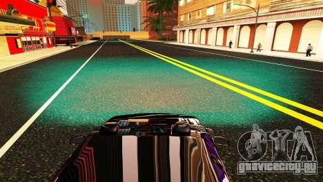 HID KIT BI-XENON H4 6000K для GTA San Andreas шестой скриншот