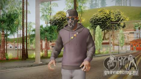 Watch Dogs 2 - Marcus v2.1 для GTA San Andreas