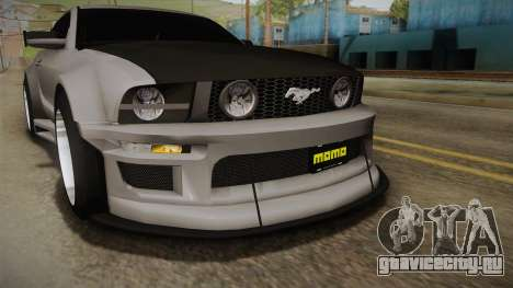Ford Mustang Rocket JDM для GTA San Andreas вид сбоку