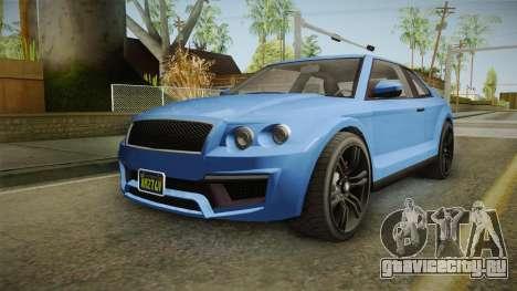 GTA 5 Enus Huntley Coupè для GTA San Andreas