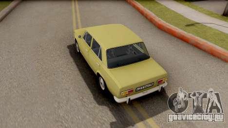 ВАЗ 2101 Копейка Сток для GTA San Andreas вид сзади