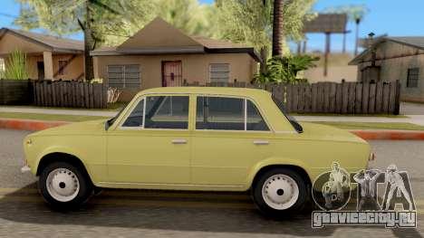 ВАЗ 2101 Копейка Сток для GTA San Andreas вид слева