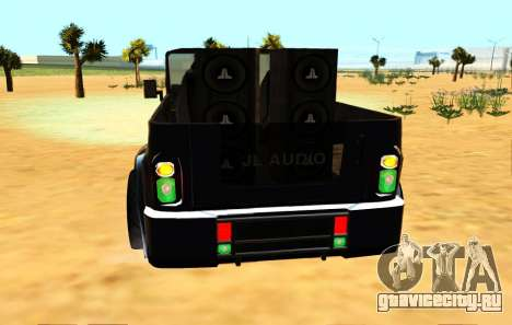 Новый цвет фар для GTA San Andreas третий скриншот