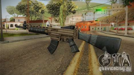 World War Z - Assault Rifle для GTA San Andreas третий скриншот