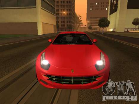 Ferrari FF 2012 Armenian для GTA San Andreas вид справа