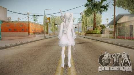 RWBY - Weiss Schnee Remade для GTA San Andreas третий скриншот