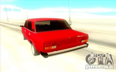 Lada Riva для GTA San Andreas вид сзади