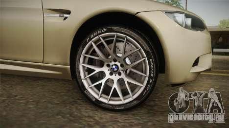 BMW M3 E92 2012 Itasha PJ для GTA San Andreas вид сзади