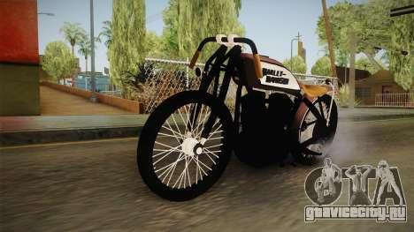 Harley-Davidson V Twin Racer 1916 для GTA San Andreas вид справа