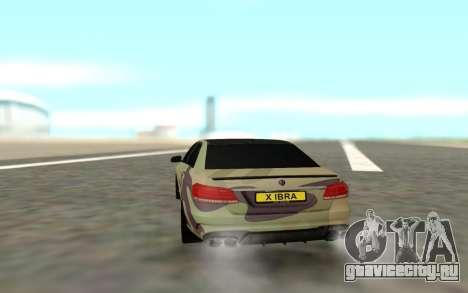 Brabus S63 для GTA San Andreas вид справа