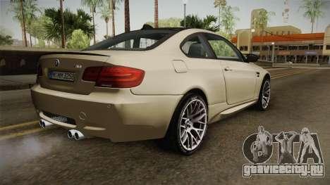 BMW M3 E92 2012 Itasha PJ для GTA San Andreas вид слева