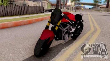 Kawasaki Ninja 250 Freestyle для GTA San Andreas