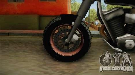 Freeway Adventure Custom v1 для GTA San Andreas вид сзади