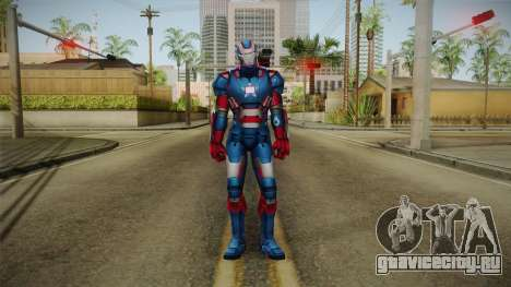 Marvel Future Fight - Iron Patriot для GTA San Andreas второй скриншот