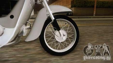JAWA 50 Pionyr для GTA San Andreas вид сзади