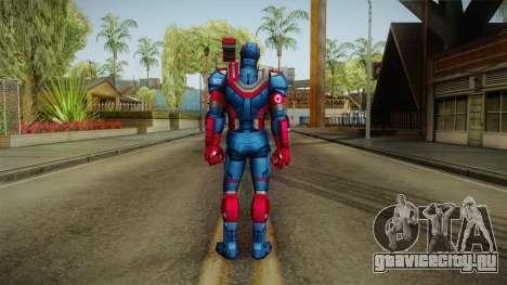 Marvel Future Fight - Iron Patriot для GTA San Andreas третий скриншот