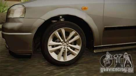 Opel Astra G 1999 для GTA San Andreas вид сзади