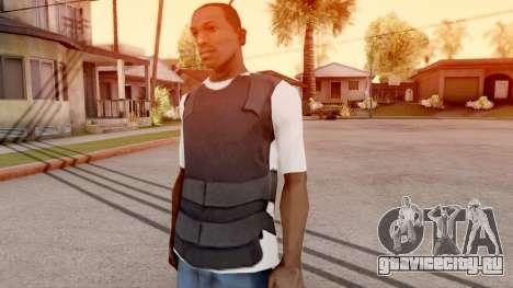 Бронежилет поверх футболки для GTA San Andreas