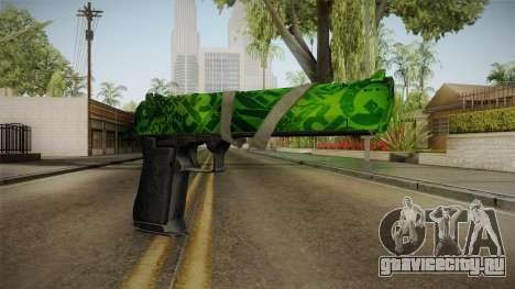 Green Desert Eagle для GTA San Andreas