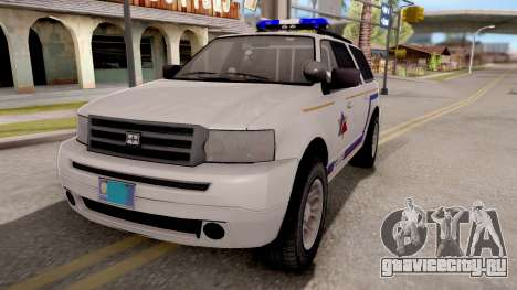 Dundreary Landstalker Hometown PD 2009 для GTA San Andreas
