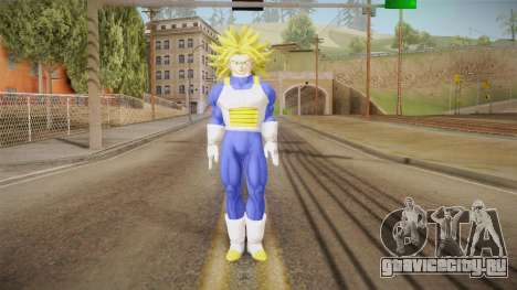 DBX - Super Trunks Saiyan Armor для GTA San Andreas второй скриншот