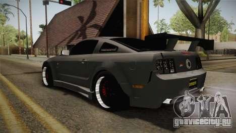 Ford Mustang Rocket JDM для GTA San Andreas вид сзади слева